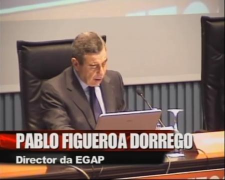 Inauguración - Foros sobre a directiva servizos e o incremento da competitividade: Unha oportunidade para Portugal, España é  Galicia
